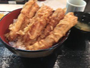 171001天周穴子天丼