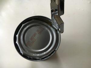 缶切りで缶詰を開けたら、思い出の蓋も開いた